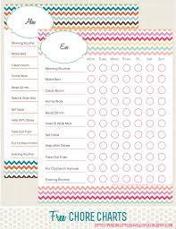 Printable Free Printable Chore Chart For Kids Best Chore Charts For Kids Free Printables Included