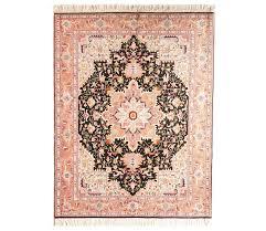 geometric tabriz persian rug