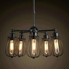 Us 1140 Schwarz Eisen Kronleuchter Lustre Licht Lampe Abajur Amerikanischen Landhausstil Industrie Loft Pendelleuchte E27 Edison Birne Barcafe