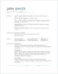 Resume Formats In Word Teaching Resume Template Word Teachers Sample
