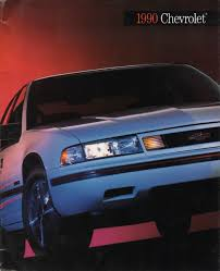 GM 1990 Chevrolet Sales Brochure