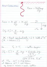so given the small heat flux from the interior of earth how do we calculate