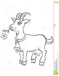 Small Picture Coloring Pages Animals Markhor Coloring Page Goat Coloring