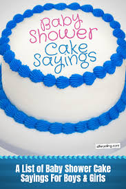 Oh Baby Weve Got Baby Shower Cake Sayings Allwordingcom