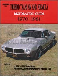 1970 pontiac firebird trans am wiring diagram manual reprint related items