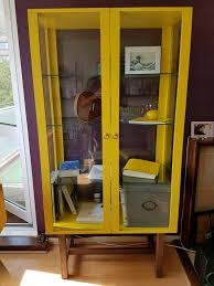 ikea stockholm glass door cabinet like new