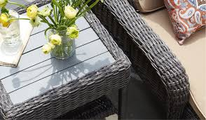 side accent patio tables