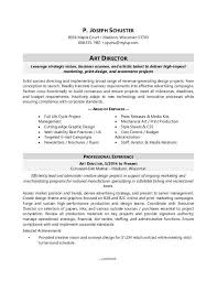 Advertising Agency Sample Resume
