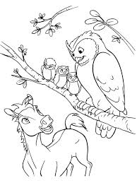 Wild Horse Coloring Pages Spirit Printable Horses Page Of Herd Cute