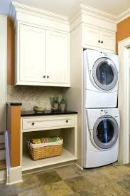 washer and dryer in master closet stacked washer dryer cabinet large size of closet washer dryer