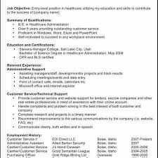 Customer Service Resume Objective Examples Elegant 33 Perfect Resume