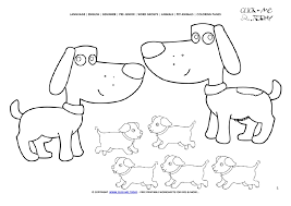 Word Family Coloring Pages Family Popular Easy Coloring Worksheets For Kindergarten