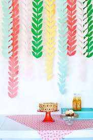 colourful diy patchwork party decoration ideas