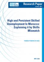 high and persistent skilled unemployment in explaining it  high and persistent skilled unemployment in explaining it by skills mismatch