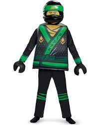 Disguise Lloyd LEGO Ninjago Movie Deluxe Costume Green - Walmart.com -  Walmart.com
