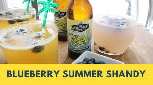 how to make a blueberry summer shandy beer l