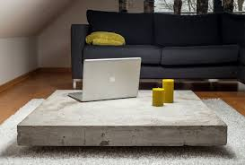 In this project diy pete will teach you how to make a concrete coffee table and how to embed a metal logo in concrete. Jung Und Grau Betonmobel Und Betonaccessoires Concrete Coffee Table Concrete Furniture Coffee Table Design