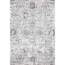 fl damask nubia grey 7 ft x 9 ft area rug