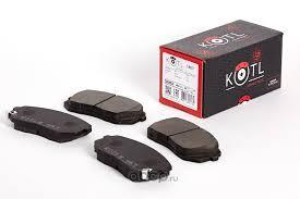KOTL 18KT <b>Комплект передних тормозных</b> колодок