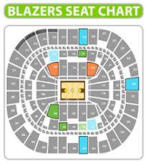 Moda Center Hockey Seating Chart Portland Trail Blazers Seating Chart Www Bedowntowndaytona Com