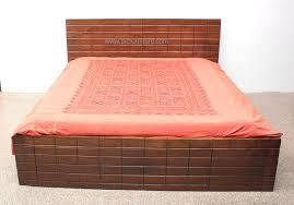 double bed designs in wood. Teak Wood Bed Brick Design Double Double Bed Designs In Wood