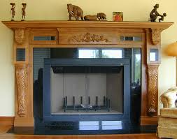 wood appliques for furniture. Fireplace With Applied Wood Carvings And Corbels Appliques For Furniture