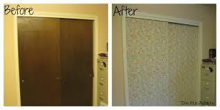 before after closet 2 door makeover removing doors ideas