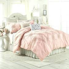 blush pink comforter full solid light bedding sets quilt cover set