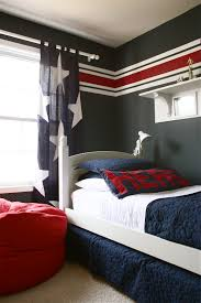 Striped Bedroom Curtains Stripe Curtains For Boys Room