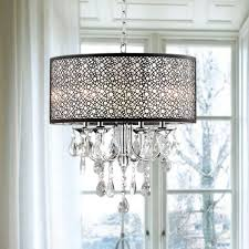 shade chandelier lighting. indoor 4light chrome crystal metal bubble shade chandelier lighting