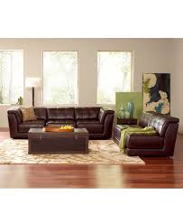 Living Room Furniture Pieces Stacey Leather Living Room Furniture Sets Pieces Modular