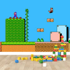 Kinderkamer Behang Super Mario World Dielconl