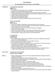 Draftsman Resumes Drafting Resume Resume Sample
