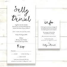Rsvp On Invitation Card Example Wedding Invitation Reply Card