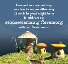 housewarming invitation messages and