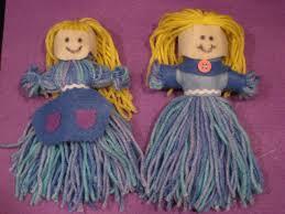 DIY YARN DOLL - Google Search | S2 | Pinterest | Yarn dolls, Yarns ...