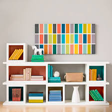 modular storage shelves using 16mm supawood par pine and masonite backing board splash of