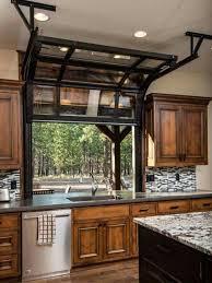 kitchen window opens like a garage door