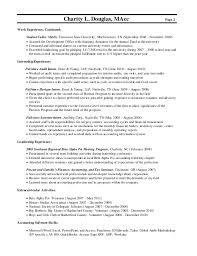 Best Charity Work Resume Images - Resume Samples & Writing Guides .