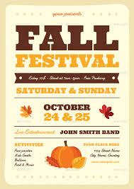 Fall Festival Flier Fall Festival Flyer