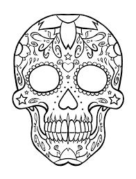 Small Picture de los muertos coloring pages