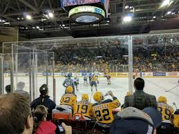 Erie Insurance Arena Section 119 Row E Seat 2 Erie Otters