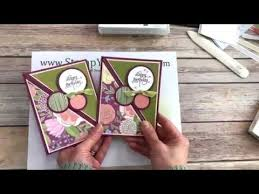 Stamp Your Art Out With Rachel Right Angle Fold Over Card Youtube