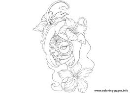 Small Picture Girl Skull Tattoo Coloring Page Coloring Pages Printable