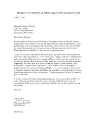 Cover Letter No Address Gallery Cover Letter Ideas