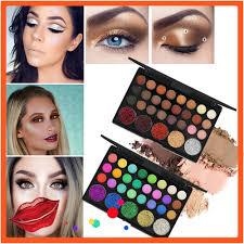 <b>29 Colors</b> Shimmer Glitter <b>Eye Shadow</b> Powder <b>Palette</b> Matte ...