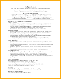 Inspiration Mri Technologist Resume Cover Letter With Additional