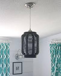 Turn a lantern into a light fixture