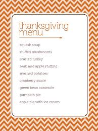 27 Images Of Thanksgiving Menu Blank Template Leseriail Com