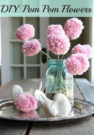 How To Make Fluffy Decoration Balls Fascinating Pom Poms Flowers Pom Poms Are Fluffy Balls Made Out Of Varying